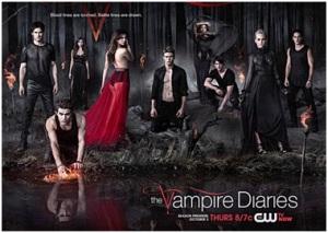 affiche vampire diaries