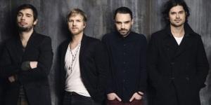 De gauche à droite : Fabien, Benoît, Florian et Nicolas.  Photo : Sony Music