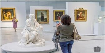 La galerie du temps au Louvre Lens