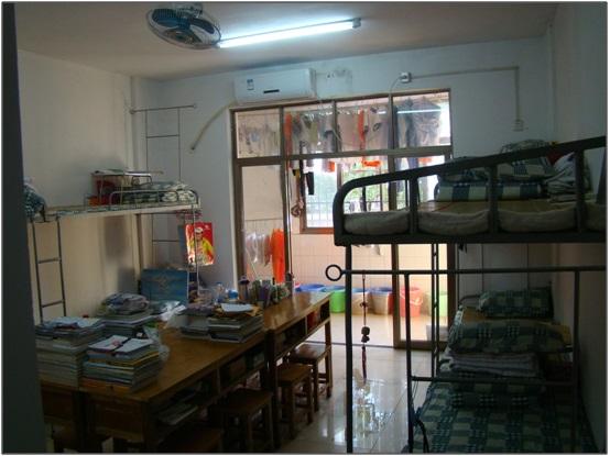 A l'intérieur d'une chambre de lycéen