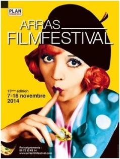 """Affiche de """"l'Arras festival film"""""""