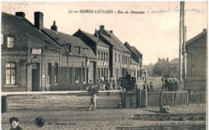 La ville d'Hénin-Liétard en 1914