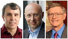 Éric Betzig, Stephan W. Hell et William Moerner