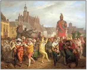 Carnaval de Cassel, Alexis Bafcop en 1876.