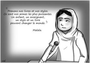 Dessin Malala