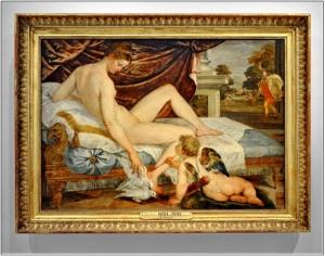 La vénus et l'amour