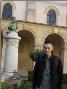 Un moment de fierté pour Quentin Dufour (1L2) ici au lycée Henri IV le 02 octobre