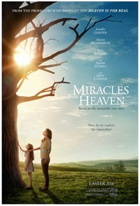 Affiche du film « Miracles form heaven »