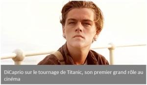 Dicaprio Titanic
